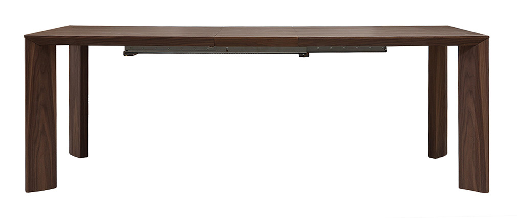 Table à manger extensible design noyer L180-220 LOUNA