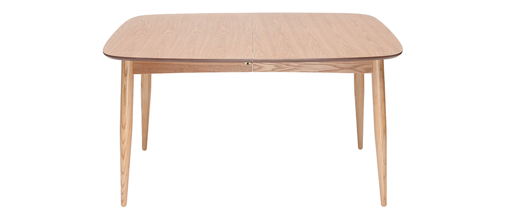 Table à manger extensible frêne L130-190 NORDECO