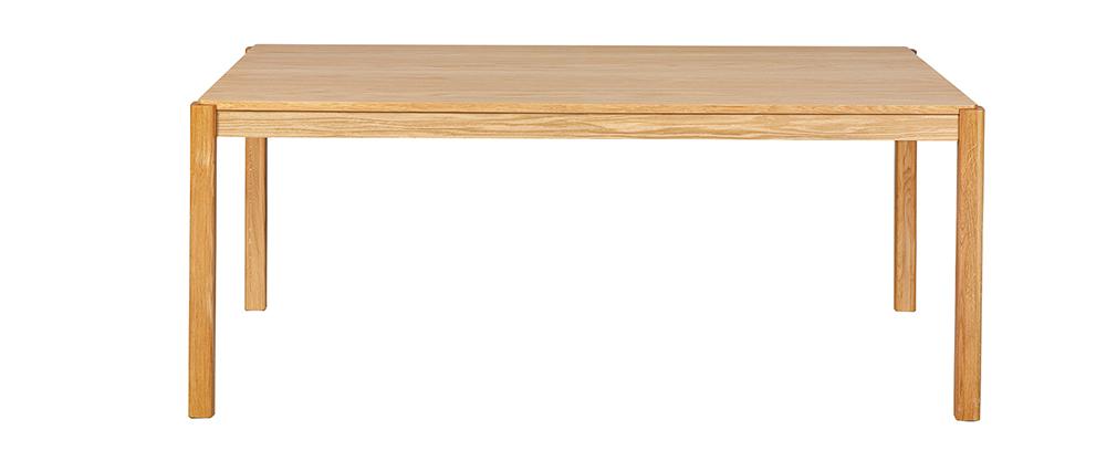Table à manger finition chêne L200 cm AGALI