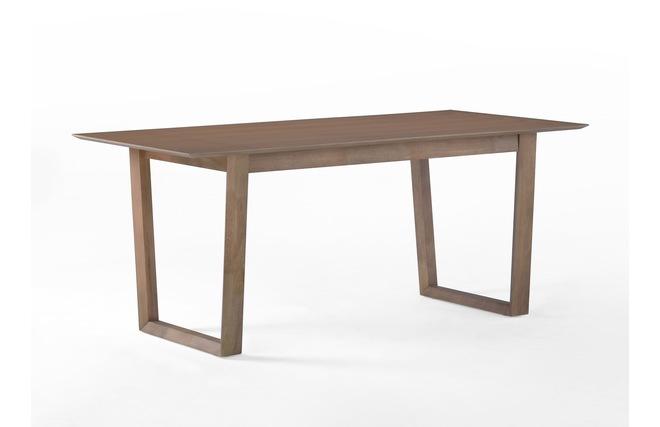 table manger fixe design bois 180cm terra miliboo. Black Bedroom Furniture Sets. Home Design Ideas