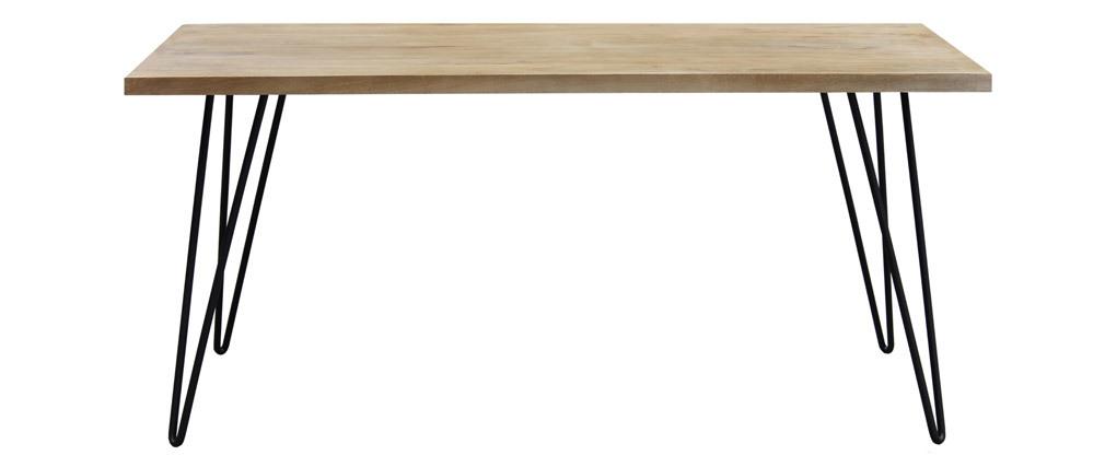 Table à manger rectangle manguier L160 cm VIBES