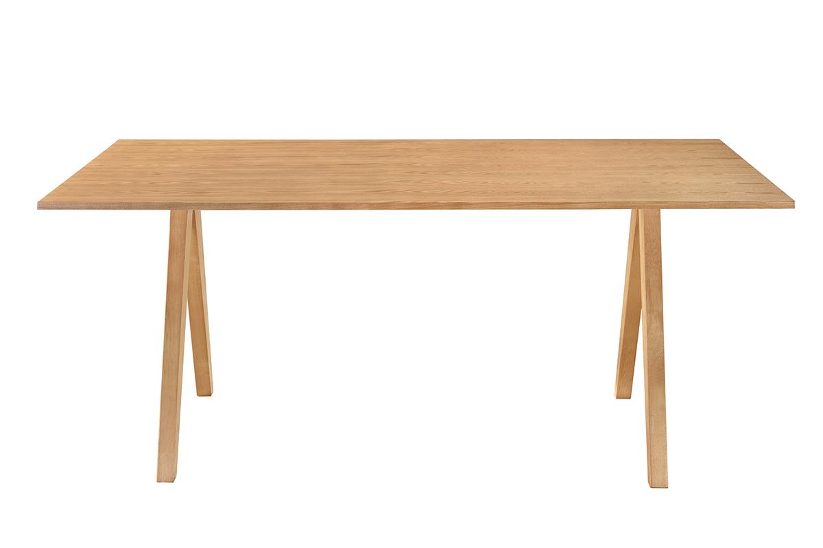 Table À Manger Nordique table à manger scandinave chêne l180 cm dana - miliboo