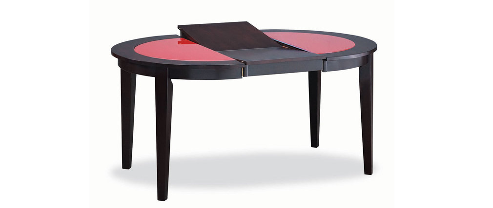 table ronde verre 105