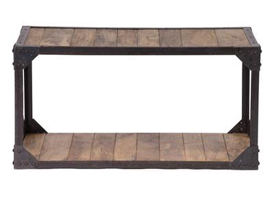 Table basse design nos tables basses carr es rondes pas cher miliboo - Table basse bois et metal pas cher ...