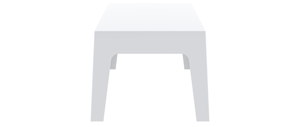 Table basse de jardin design blanc LALI - Miliboo