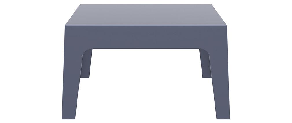 Table basse de jardin design gris fumé LALI