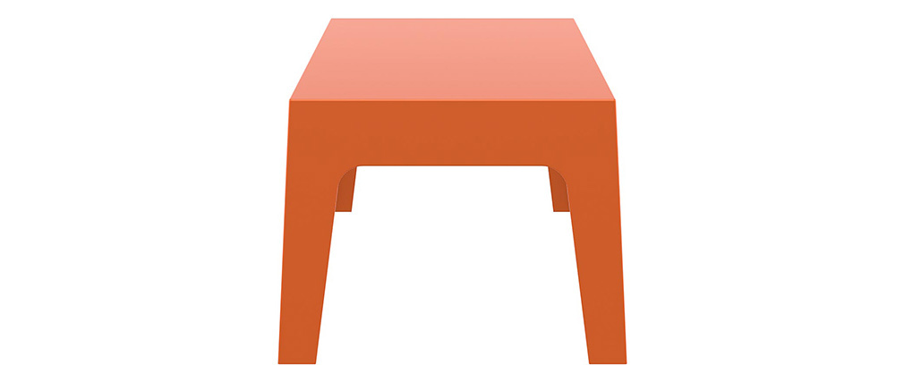 Table basse de jardin design orange  LALI