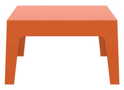 Table basse de jardin design orange LALI