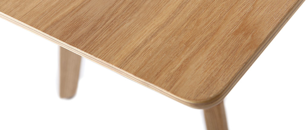 Table basse design 120 cm frêne KYOTO
