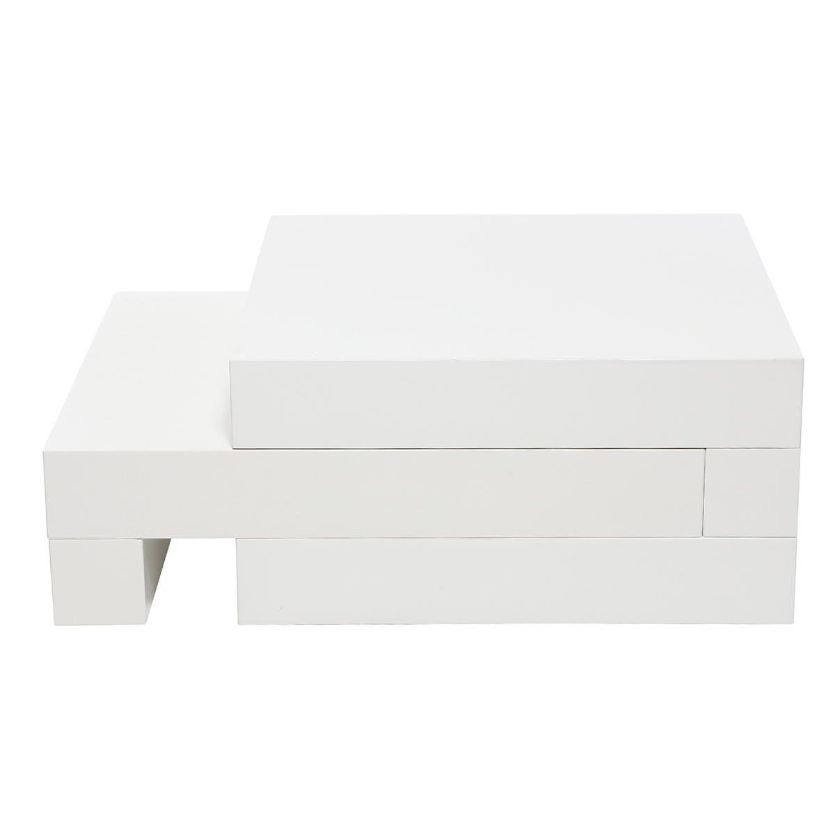 4f141a41026f26 Table basse design blanc brillant