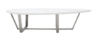 Table basse design blanche MILLA