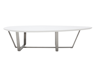 Table basse design blanche MILLA