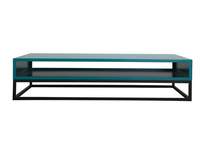 Table basse design bleu SURFACE