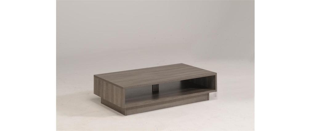 Table basse design bois moca miliboo - Table basse bois design ...