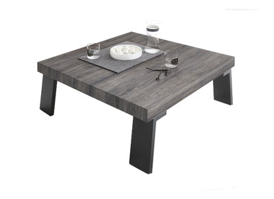 Table basse design nos tables basses carr es rondes pas cher miliboo - Table basse carree wenge ...