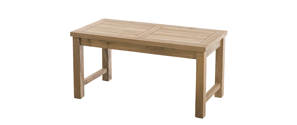 Table basse design en teck CRUZ