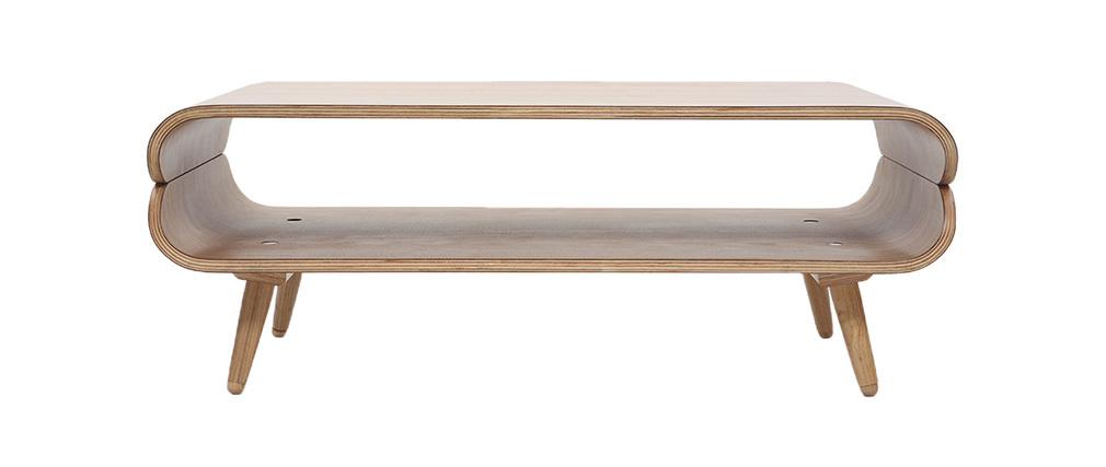Table basse design frêne TAKLA