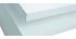 Table basse design laquée blanc L100 cm HALTON