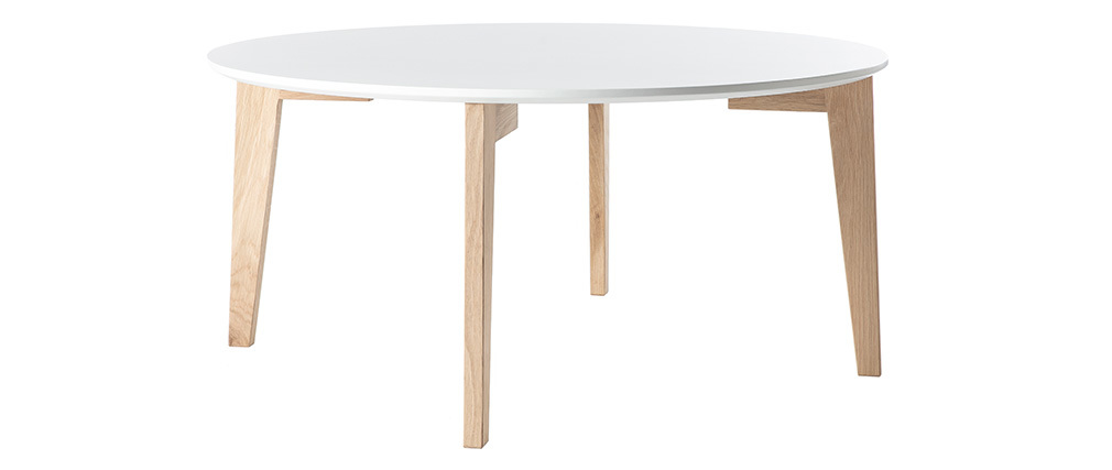 Table basse design laquee blanc charlene jpg pictures to pin on pinterest - Table basse laquee blanc ...