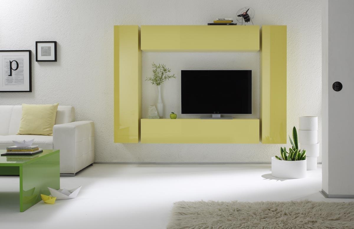 Table basse Design Laquée COLORED Vert