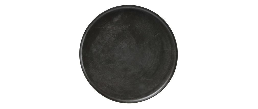Table basse design métal et pieds bois LUMI