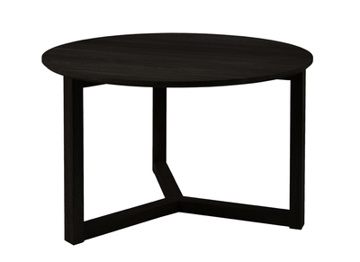 Table basse design noire 90cm UNITED