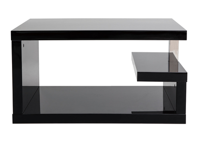 Table basse design noire REX