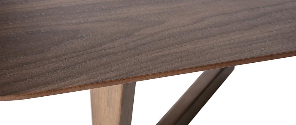 Table basse design noyer 150cm JUKE