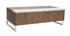 Table basse design relevable bois et blanc avec rangement URBAN