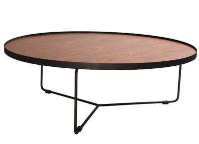 Table basse design nos tables basses carr es rondes pas - Table basse metal ronde ...