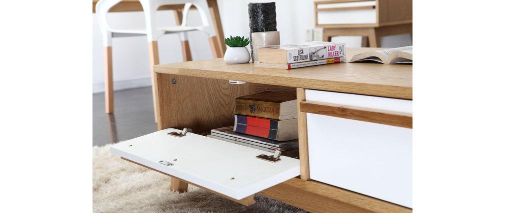 Table Basse Lumineuse Conforama ~ Table Basse Design Scandinave HELIA  Miliboo