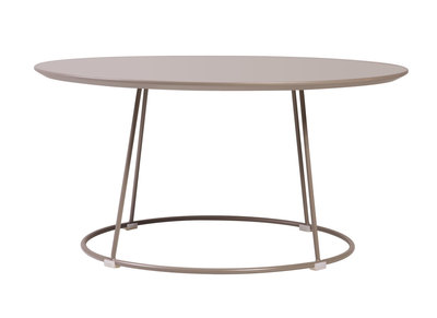 Table basse design taupe KALY