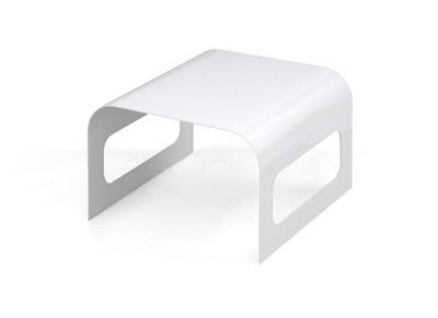 Table basse Design TRACKS II Blanche