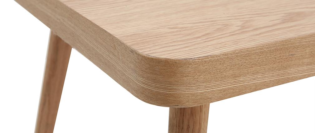 Table basse en chêne clair TOTEM