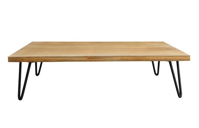 Table basse, le pied formé d'une sphère en