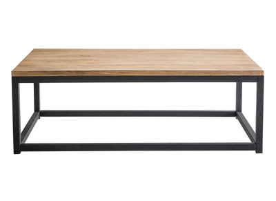 Table basse design nos tables basses carr es rondes pas - Table basse industrielle pas chere ...