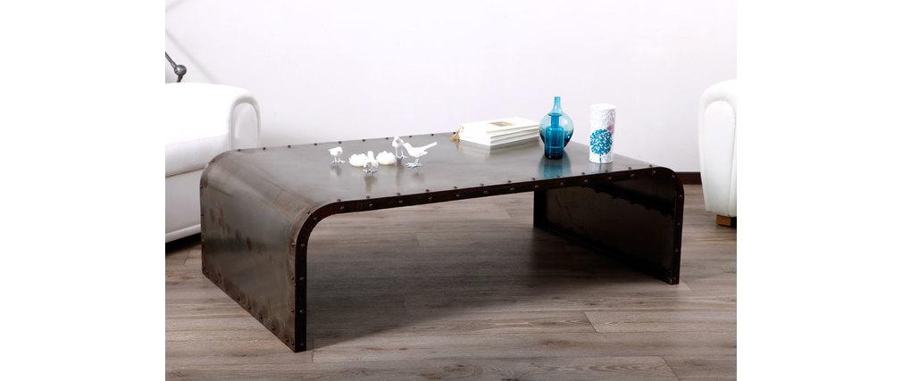 Table basse métal industrielle FERRA