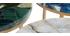 Table basse ronde en agate bleue D40 cm PIETRA - Miliboo & Stéphane Plaza