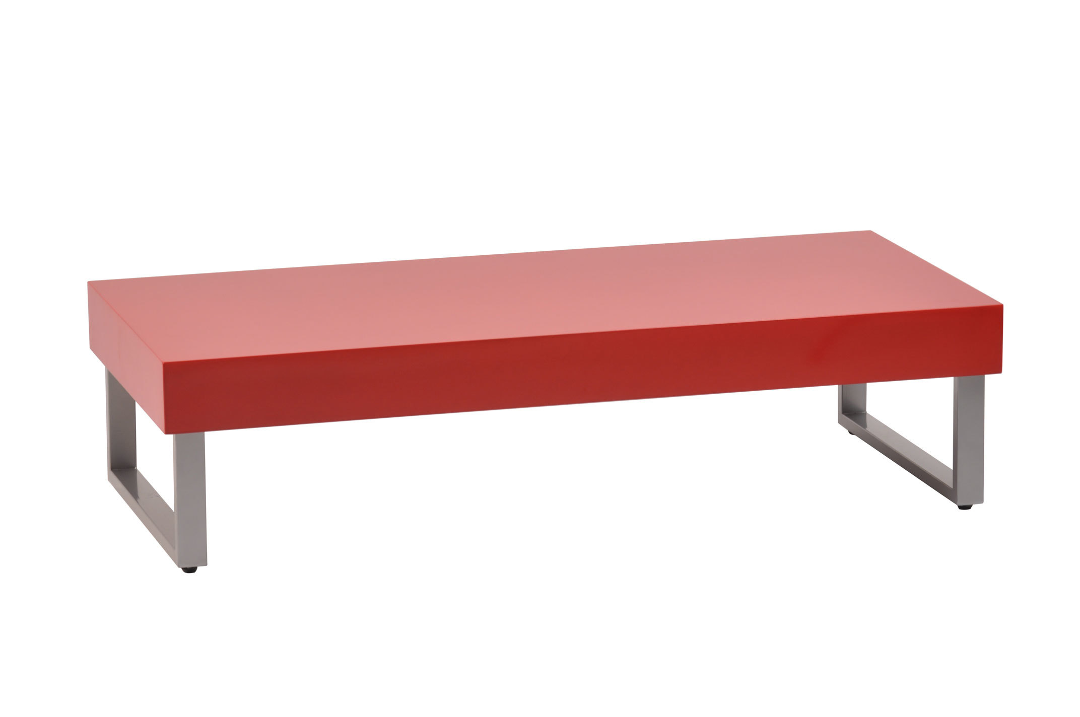 Table basse rouge laqu e morgan miliboo for Miliboo table basse