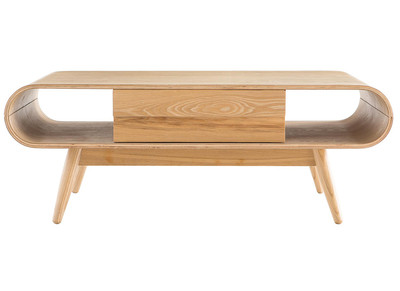 Table basse scandinave bois naturel BALTIK