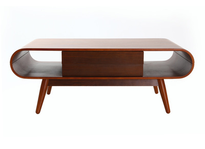 Table basse scandinave bois noyer BALTIK