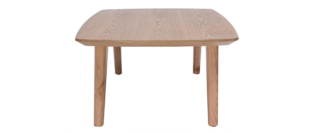 Table basse scandinave frêne L120cm FIFTIES