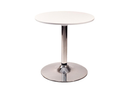 Table d'appoint blanche SANDY