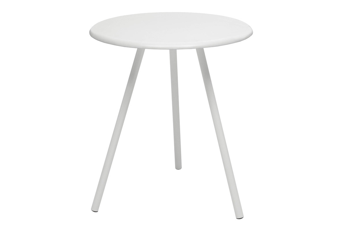 Table blanche design comparer les prix des table blanche design pour conom - Table blanche laquee ...