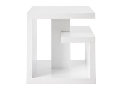 Table D Appoint Design Laquee Blanche Halton