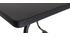 Table d'appoint en métal noir MONACO