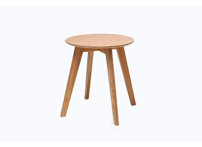 Table d'appoint scandinave bois naturel ORKAD