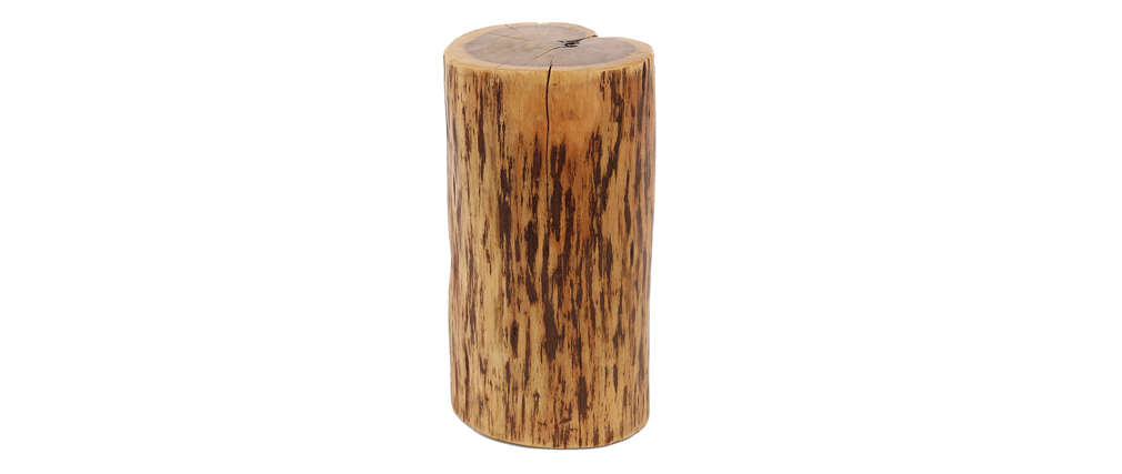 Table d'appoint tronc massif en acacia naturel TRUNK