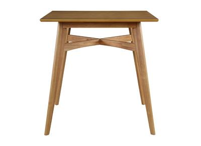 Table Bar Pour Votre Cuisine Avec Rangement Bois Beige Miliboo
