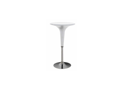 Table de bar design blanc BARAS
